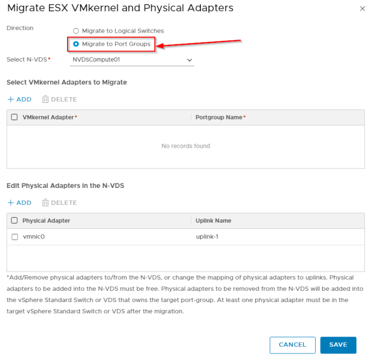 NSX-T N-VDS Topologies and Migrating Host Networking between